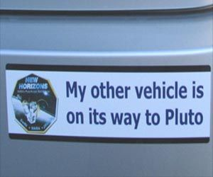 Vehicle on its way to Pluto